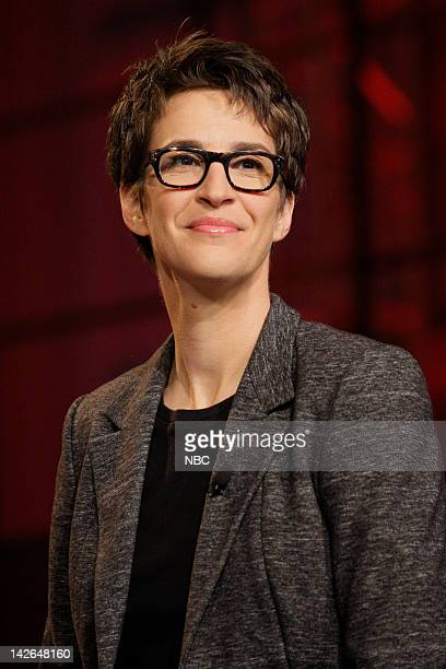 Episode 4233 -- Pictured: Political Commentator Rachel Maddow on April 10, 2012 --