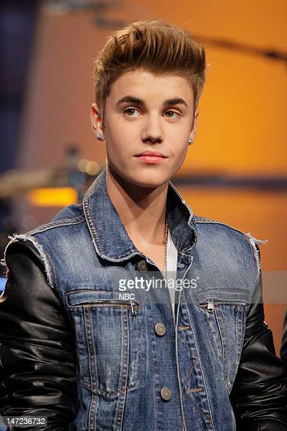 Musical guest Justin Bieber on June 27 2012