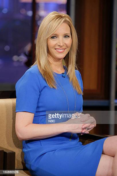 Actress Lisa Kudrow during an interview on August 28 2012