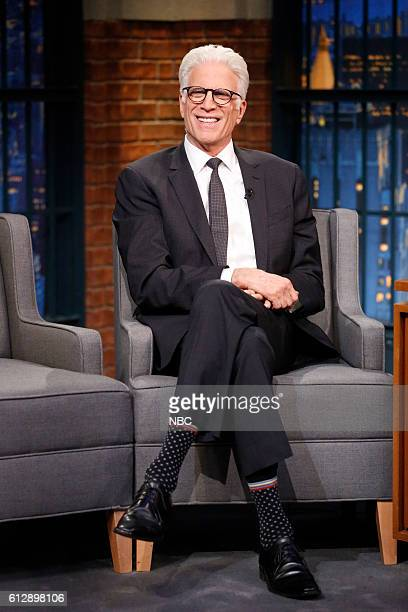 Actor Ted Danson during an interview on October 5 2016