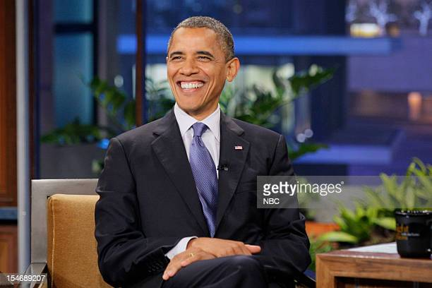 President Barack Obama during an interview on October 24 2012