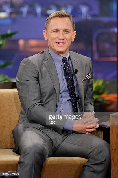 Actor Daniel Craig during an interview on November 7 2012