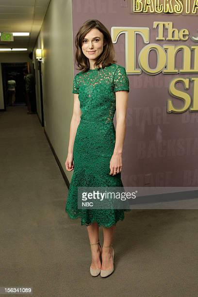 LENO Episode 4351 Pictured Keira Knightley on November 13 2012