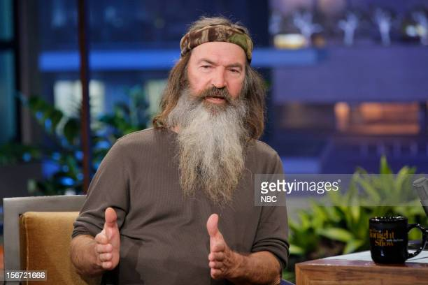 Phil Robertson during an interview on November 19 2012