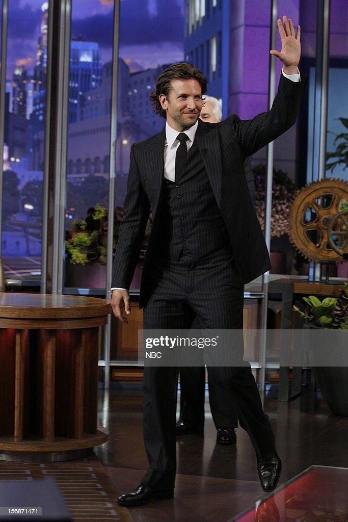 Actor Bradley Cooper arrives on November 22, 2012 --