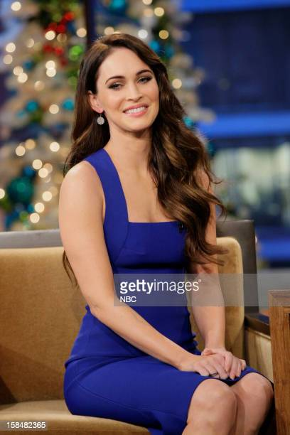 Actress Megan Fox during an interview on December 17 2012