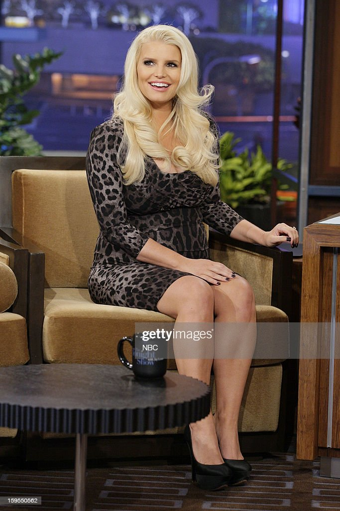 Jessica Simpson during an interview on January 15, 2013 --
