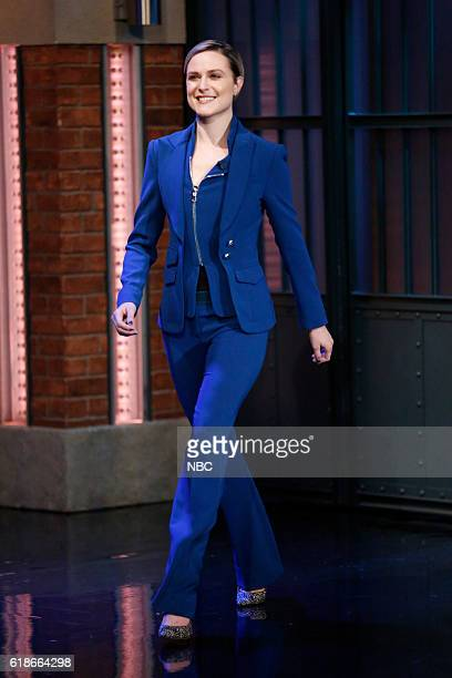 Actress Evan Rachel Wood arrives on October 27 2016