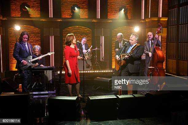 Musical guest John Prine with performs with Iris Dement on November 1 2016