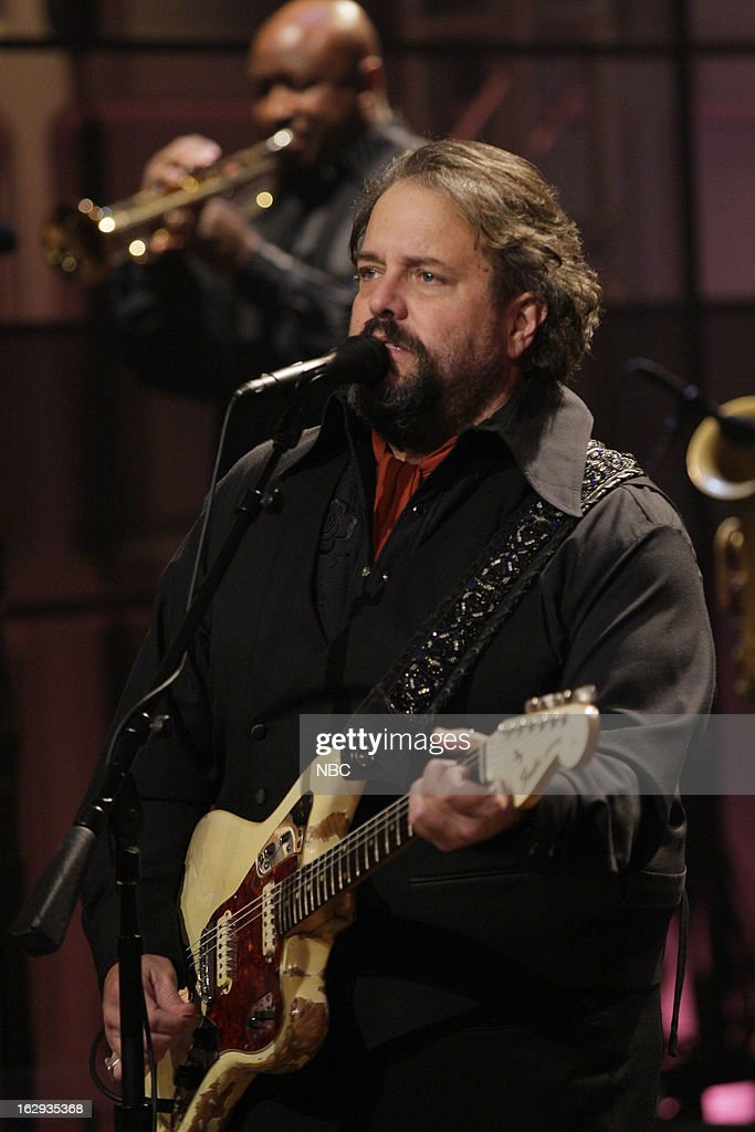 Raul Malo of The Mavericks on March 1, 2013 --