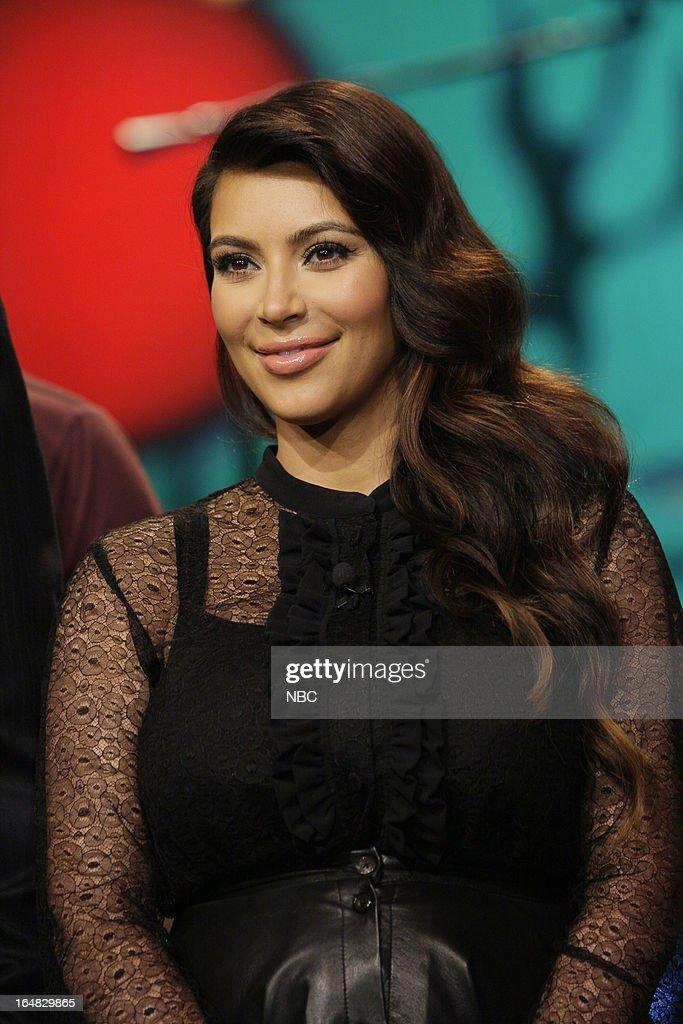 Kim Kardashian on March 28, 2013 --