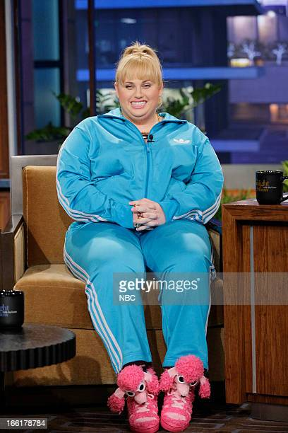 Actress Rebel Wilson during an interview on April 9 2013