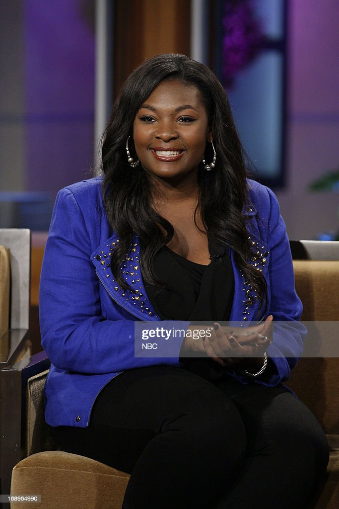 American Idol winner Candice Glover during an interview on May 17, 2013 --