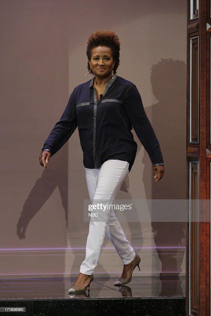 Comedian Wanda Sykes arrives on June 28, 2013 --