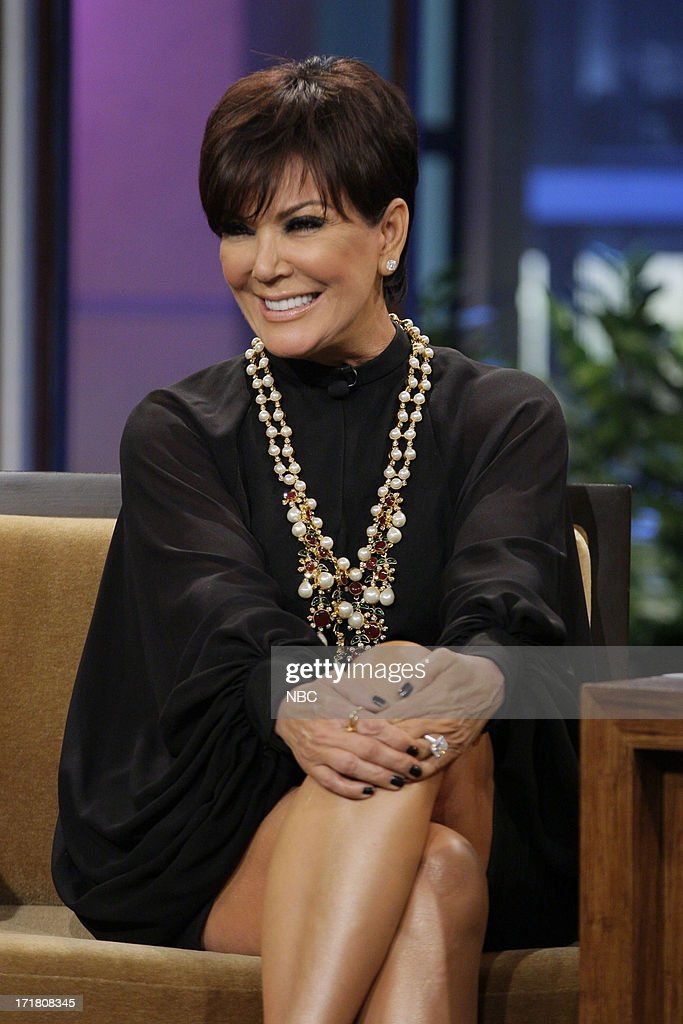 Kris Jenner during an interview on June 28, 2013 --