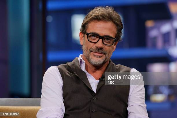 Episode 4490 -- Pictured: Actor Jeffrey Dean Morgan during an interview on July 8, 2013 --