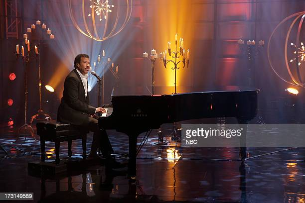 Musical guest Lionel Richie performs on July 8 2013