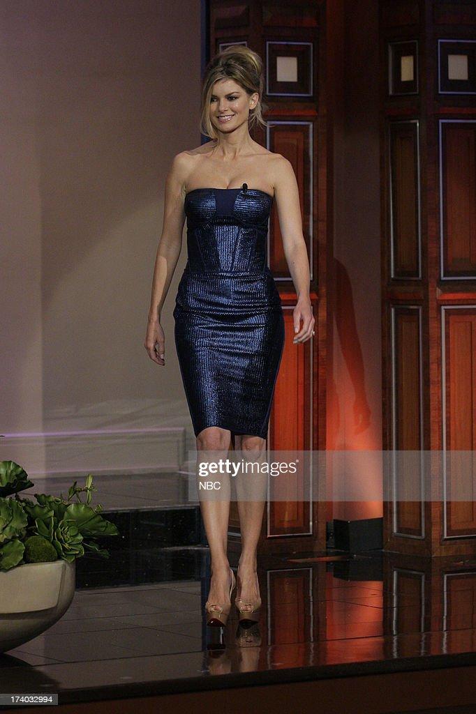 Supermodel Marisa Miller arrives on July 19, 2013 --
