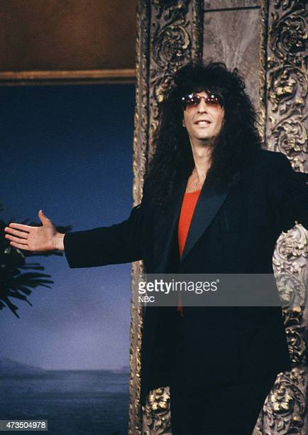Radio personality Howard Stern arrives on July 24 1992