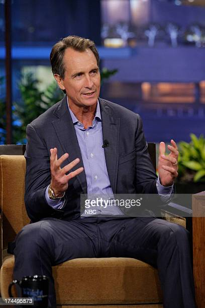 Sportscaster Cris Collinsworth during an interview on July 23 2013