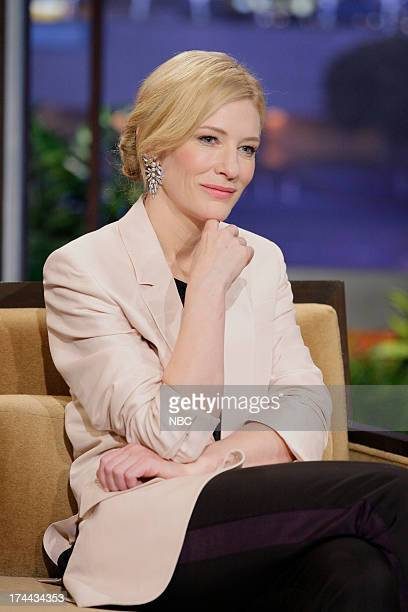 Actress Cate Blanchett during an interview on July 25 2013