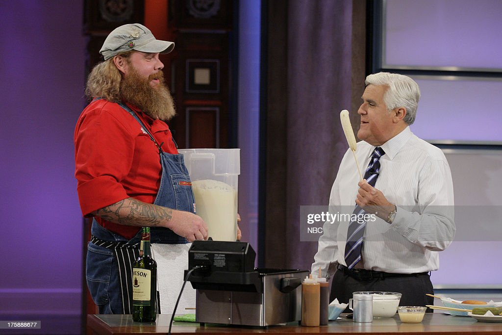 The Tonight Show with Jay Leno - Season 21 : News Photo