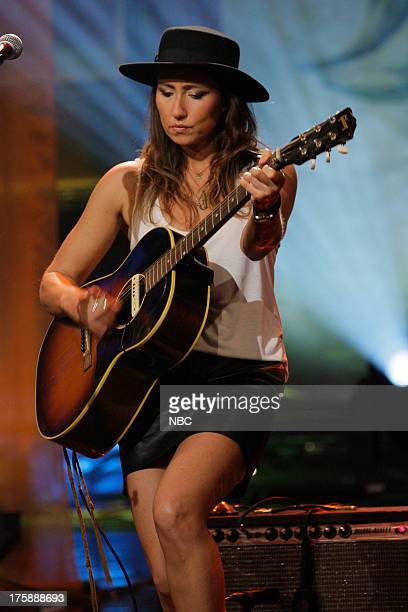 Musical guest KT Tunstall performs on August 9 2013