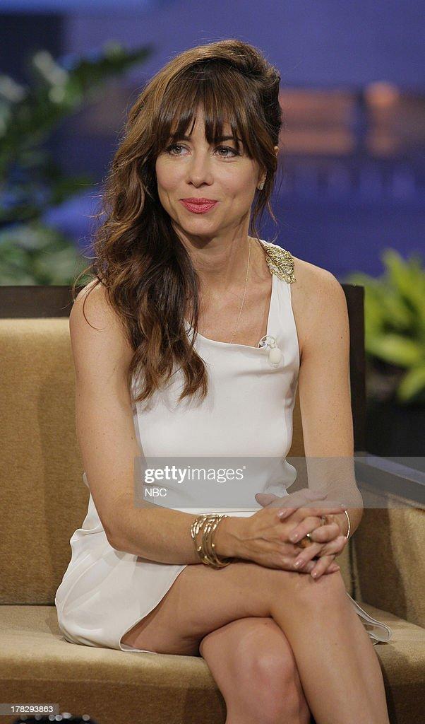 Comedian Natasha Leggero during an interview on August 28, 2013 --