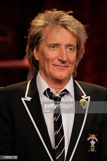 Episode 4518 -- Pictured: Musical guest Rod Stewart on August 29, 2013 --
