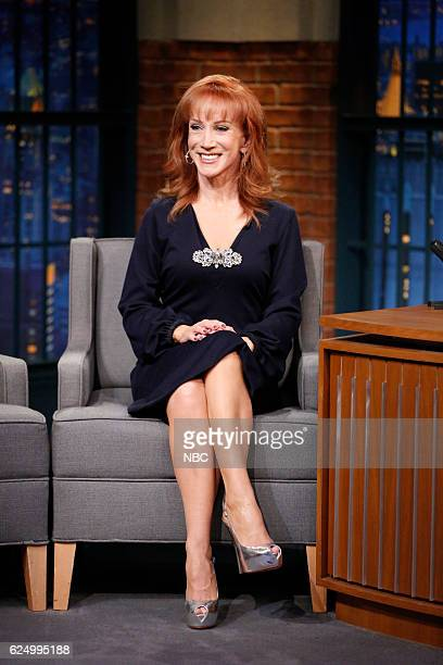 Comedian Kathy Griffin during an interview on November 21 2016