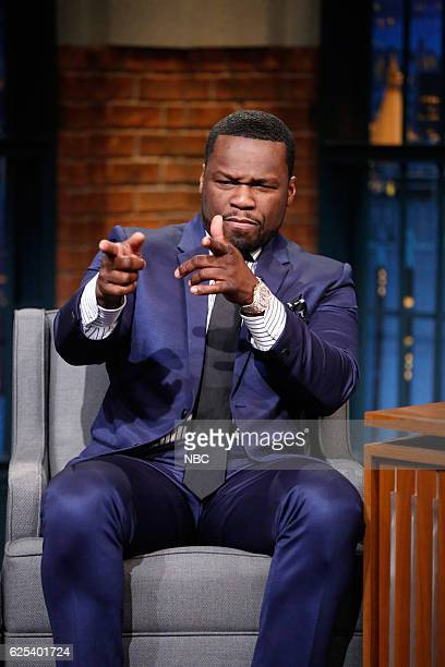 Curtis '50 Cent' Jackson during an interview on November 23 2016