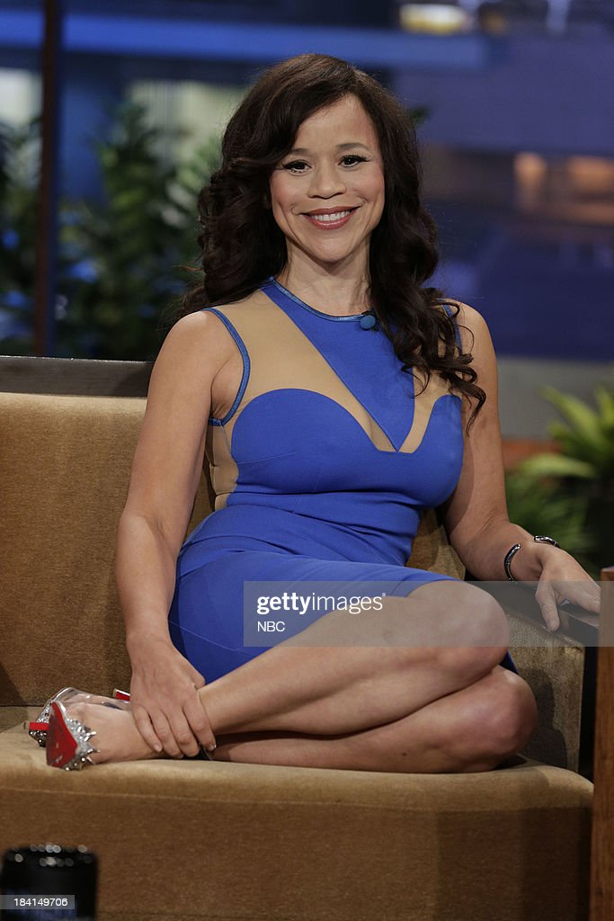 Actress Rosie Perez during an interview on October 11, 2013 --