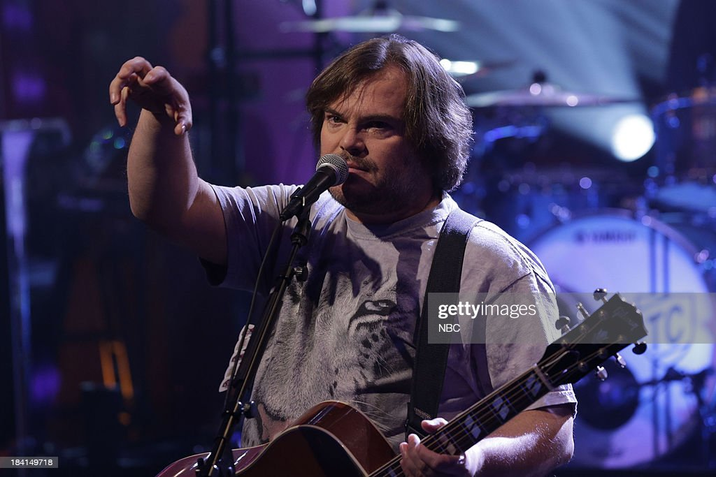 Kyle Gass and Jack Black of Tenacious D perform on October 11, 2013 --