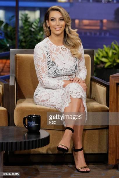 Kim Kardashian during an interview on October 30 2013
