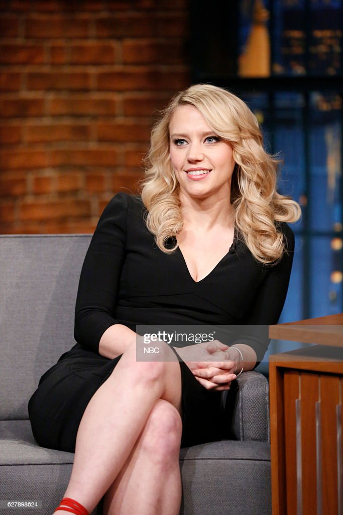 """NBC's """"Late Night With Seth Meyers"""" With Guests Kate McKinnon, Benjamin Bratt, The Hold Steady"""