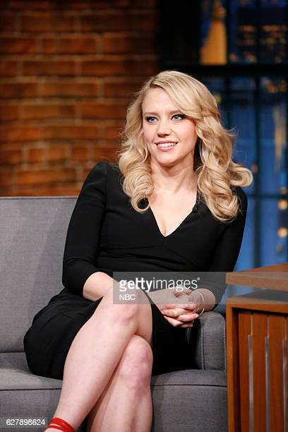 Comedian Kate McKinnon during an interview on December 5 2016