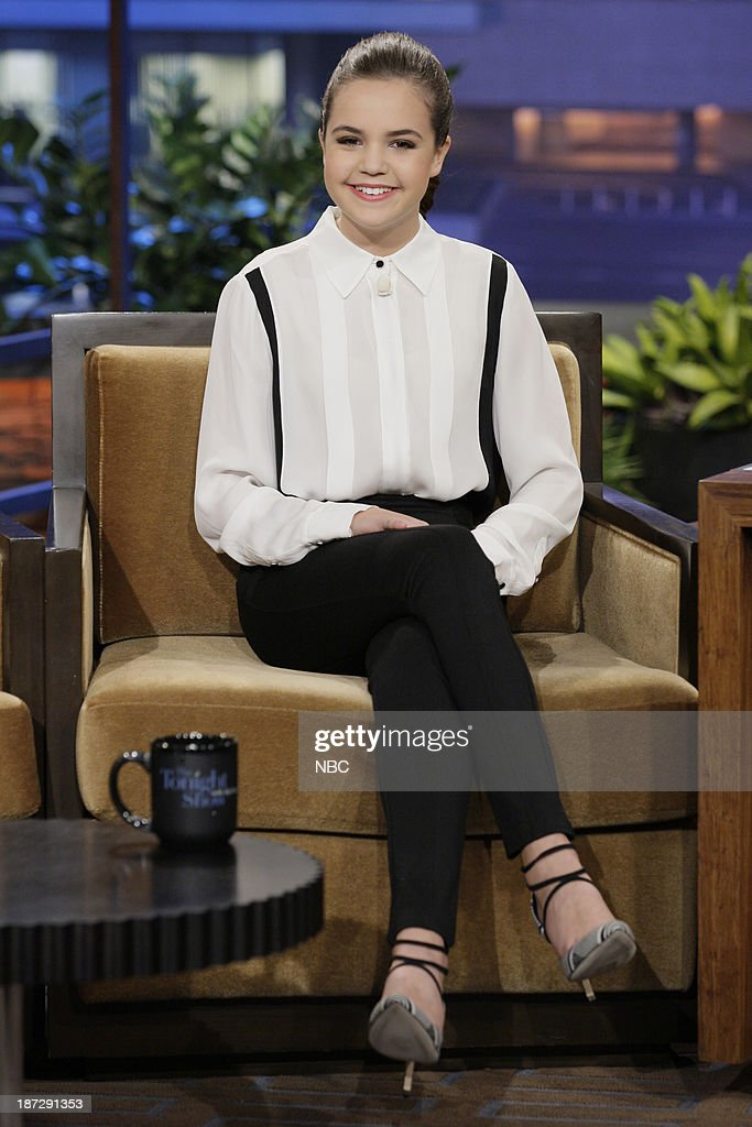 Actress Bailee Madison during an interview on November 7, 2013 --