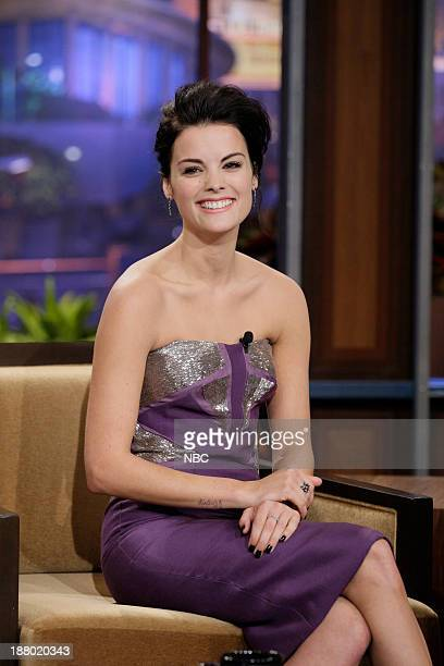 Actress Jaimie Alexander during an interview on November 14 2013