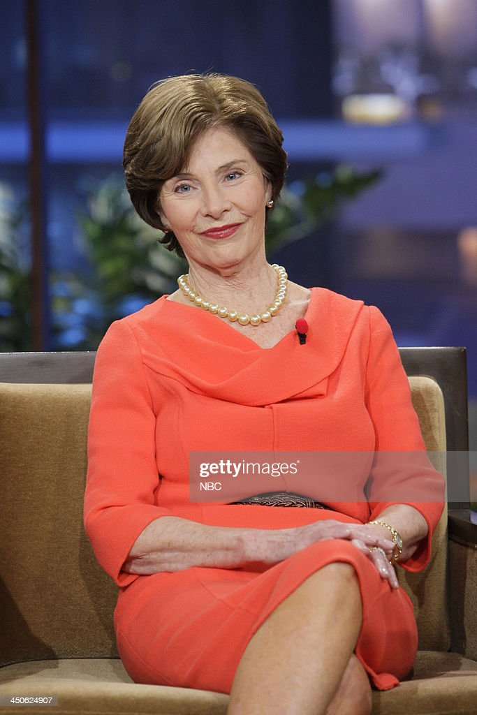 Former First Lady Laura Bush during an interview on November 19, 2013 --