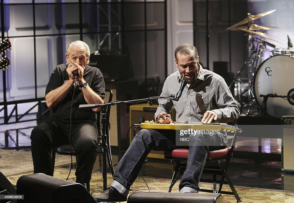 Musical guests Charlie Musselwhite, Ben Harper perform on November 19, 2013 --