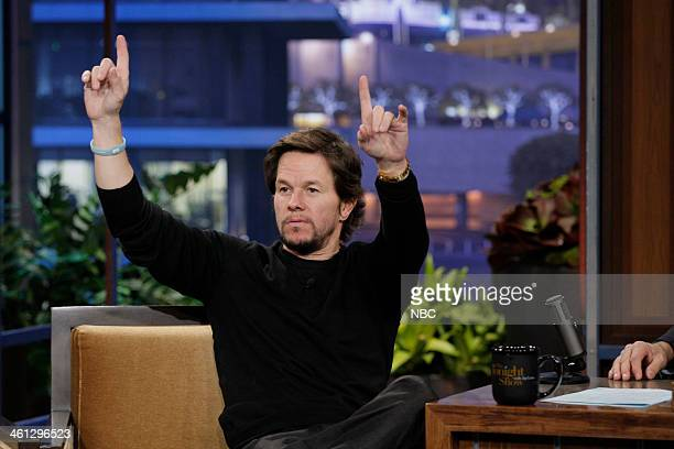Actor Mark Wahlberg during an interview on January 7 2014