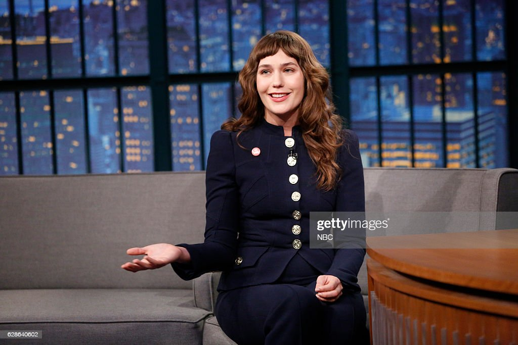 "NBC's ""Late Night With Seth Meyers"" With Guests Taraji P. Henson, Lola Kirke, Bret Baier"