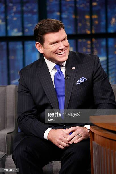 Episode 459 -- Pictured: News anchor, Bret Baier, during an interview on December 8, 2016 --