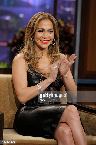 Episode 4593 -- Pictured: Actress Jennifer Lopez during an interview on January 13, 2014 --