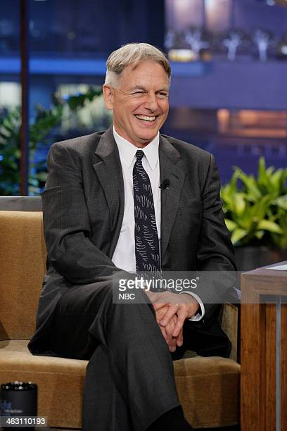 Actor Mark Harmon during an interview on January 16 2014