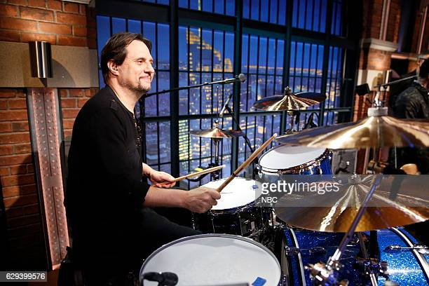 """Dave Lombardo of the band """"Suicidal Tendencies"""" sits in with the 8G Band on December 12 2016"""