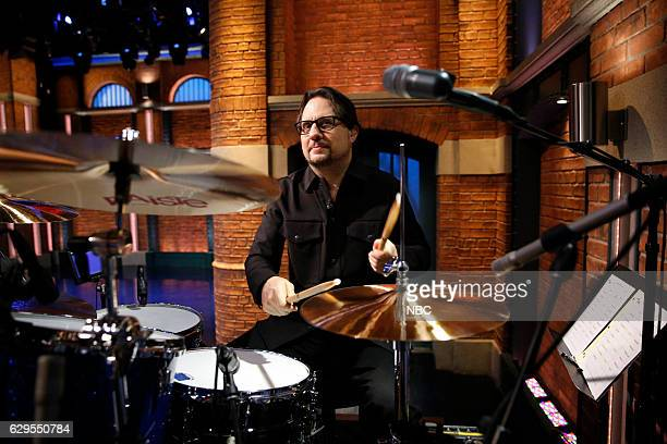 """Dave Lombardo of the band """"Suicidal Tendencies"""" sits in with the 8G Band on December 13 2016"""