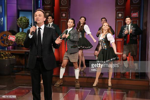 Actor Billy Crystal performs during the Farewell Song on February 6 2014