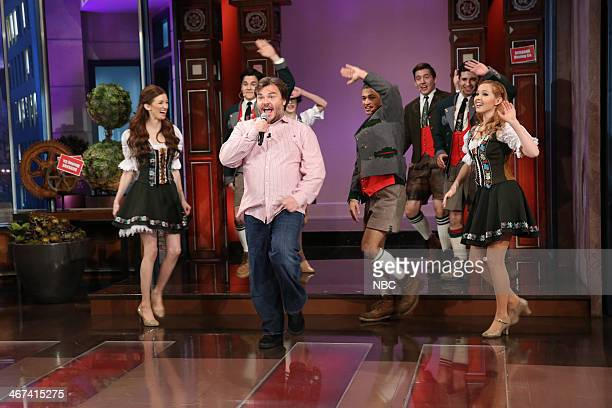 Actor Jack Black performs during the Farewell Song on February 6 2014