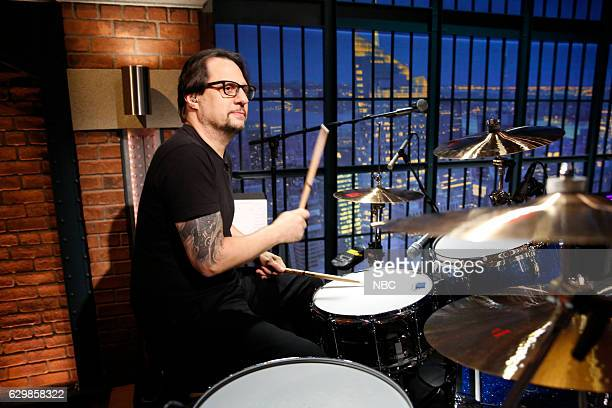 """Dave Lombardo of the band """"Suicidal Tendencies"""" sits in with the 8G Band on December 14 2016"""
